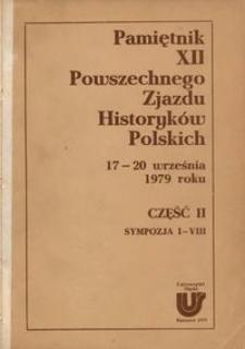 Pamiętnik dwunastego Powszechnego Zjazdu Historyków Polskich