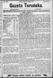 Gazeta Toruńska 1891, R. 25 nr 184