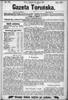 Gazeta Toruńska 1891, R. 25 nr 186