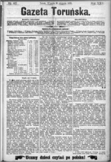 Gazeta Toruńska 1891, R. 25 nr 187