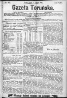 Gazeta Toruńska 1891, R. 25 nr 190