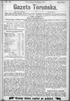 Gazeta Toruńska 1891, R. 25 nr 197