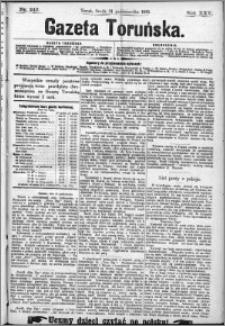 Gazeta Toruńska 1891, R. 25 nr 242