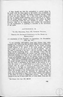 To His Holiness, Paul III, Supreme Pontiff, Preface by Nicholas Copernicus to his Books on Revolutions