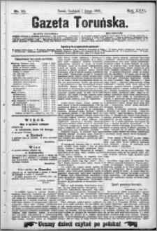Gazeta Toruńska 1892, R. 26 nr 30
