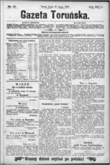 Gazeta Toruńska 1892, R. 26 nr 32