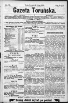 Gazeta Toruńska 1892, R. 26 nr 33