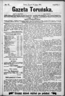 Gazeta Toruńska 1892, R. 26 nr 37