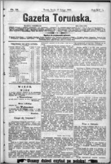 Gazeta Toruńska 1892, R. 26 nr 38