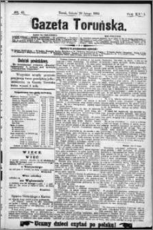 Gazeta Toruńska 1892, R. 26 nr 41