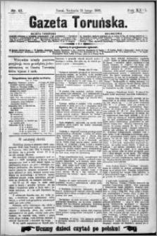 Gazeta Toruńska 1892, R. 26 nr 42