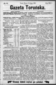 Gazeta Toruńska 1892, R. 26 nr 43