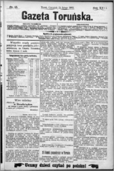 Gazeta Toruńska 1892, R. 26 nr 45