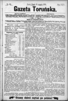 Gazeta Toruńska 1892, R. 26 nr 195