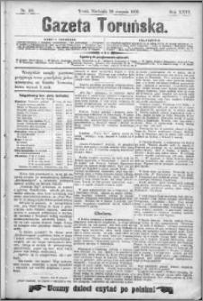 Gazeta Toruńska 1892, R. 26 nr 197