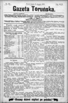 Gazeta Toruńska 1892, R. 26 nr 199