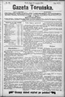 Gazeta Toruńska 1892, R. 26 nr 213