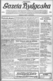 Gazeta Bydgoska 1922.10.06 R.1 nr 82