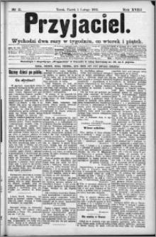 Przyjaciel : pismo dla ludu 1892 nr 11