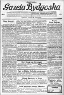 Gazeta Bydgoska 1922.10.12 R.1 nr 87