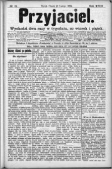 Przyjaciel : pismo dla ludu 1892 nr 15