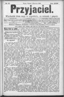 Przyjaciel : pismo dla ludu 1892 nr 27