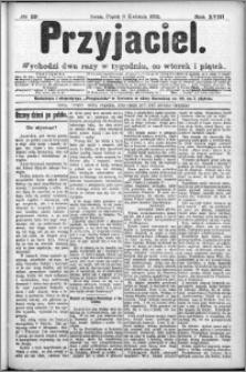 Przyjaciel : pismo dla ludu 1892 nr 29