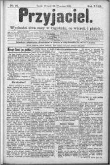 Przyjaciel : pismo dla ludu 1892 nr 76