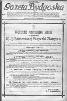 Gazeta Bydgoska 1922.10.17 R.1 nr 91