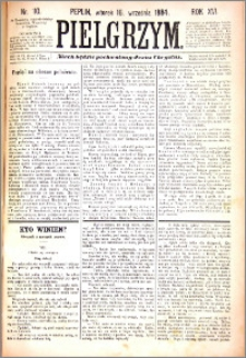 Pielgrzym, pismo religijne dla ludu 1884 nr 110
