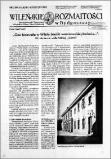 Wileńskie Rozmaitości 2006 nr 2 (95) marzec-kwiecień