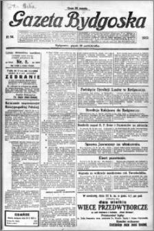 Gazeta Bydgoska 1922.10.20 R.1 nr 94