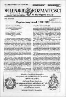 Wileńskie Rozmaitości 2006 nr 6 (99) listopad-grudzień