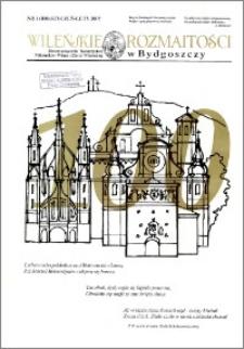 Wileńskie Rozmaitości 2007 nr 1 (100) styczeń-luty