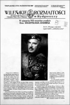 Wileńskie Rozmaitości 2007 nr 4/5 (103/104) lipiec-październik