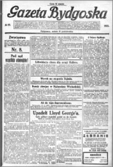 Gazeta Bydgoska 1922.10.21 R.1 nr 95