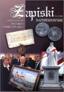 Zapiski Kazimierzowskie 2010 nr 4