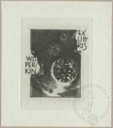 Ekslibris W. D. Perkin II