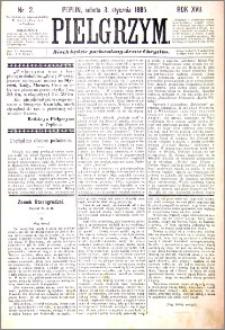 Pielgrzym, pismo religijne dla ludu 1885 nr 2