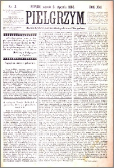 Pielgrzym, pismo religijne dla ludu 1885 nr 3
