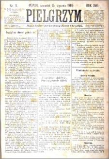Pielgrzym, pismo religijne dla ludu 1885 nr 7