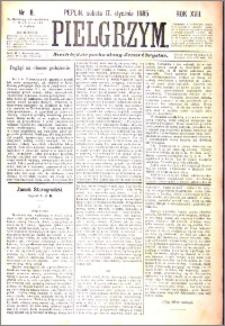Pielgrzym, pismo religijne dla ludu 1885 nr 8