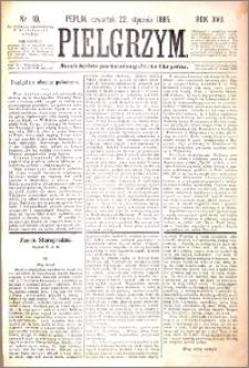 Pielgrzym, pismo religijne dla ludu 1885 nr 10