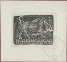 Ekslibris et collectione Eustachego Sapiehy