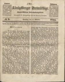 Königsberger Freimüthige Jg 6 nr 3 (7 October 1845)