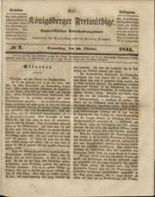 Königsberger Freimüthige Jg 6 nr 7 (16 October 1845)