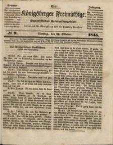 Königsberger Freimüthige Jg 6 nr 9 (21 October 1845)