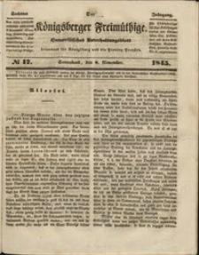 Königsberger Freimüthige Jg 6 nr 17 (8 November1845)
