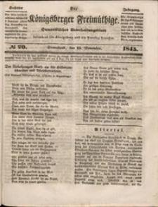 Königsberger Freimüthige Jg 6 nr 20 (15 November1845)
