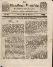 Königsberger Freimüthige Jg 6 nr 21 (18 November1845)
